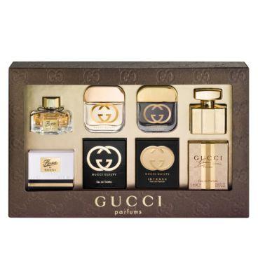 Gucci Miniatures Gift Set Gucci Womens Miniature Gift