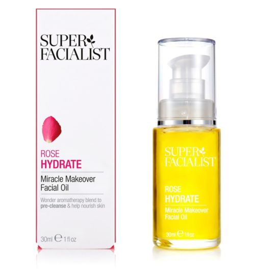 Superfacialist Rose Miracle Makeover Facial Oil 30ml