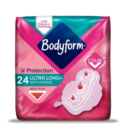 Bodyform Ultra Super Long Wing Duo 24