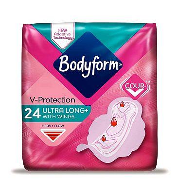 Bodyform 24 Super Long Wing Ultra Towels Duo