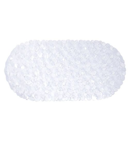 Boots Pebble Bath Mat Clear