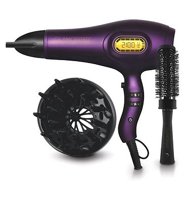 Glamoriser by Richard Ward Professional Digital Ultralight Power Hairdryer  Exclusive to Boots
