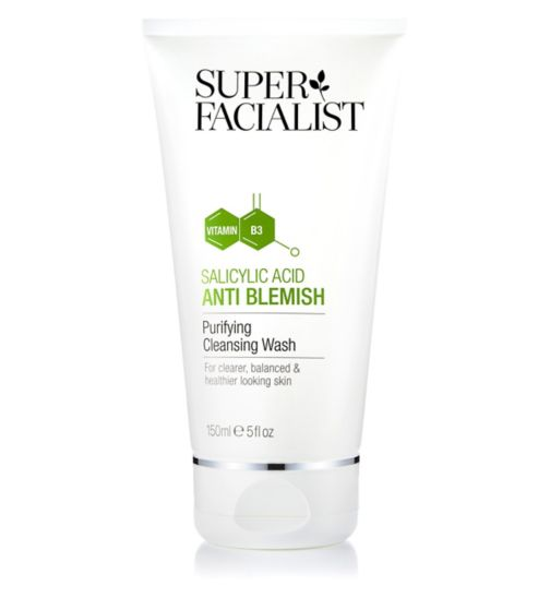 Super Facialist Salicylic Acid Purifying Cleansing Wash 150ml