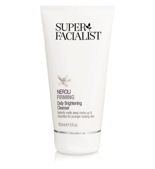 Superfacialist Neroli Daily Brightening Cleanser 150ml