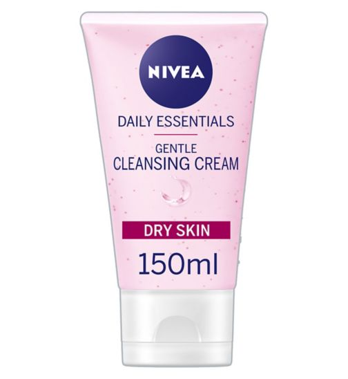 Nivea Daily Essentials Gentle Cleansing Cream Wash For Dry and Sensitive Skin 150ml