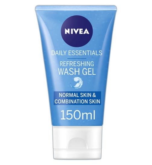 NIVEA Daily Essentials Refreshing Facial Wash Gel 150ml