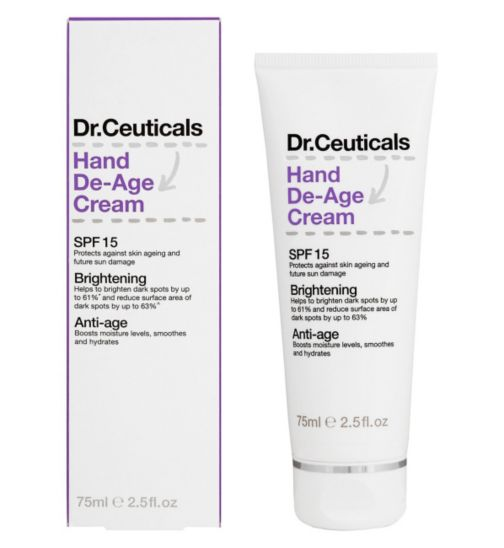 Dr Ceuticals Hand De-Age Cream SPF15 75ml
