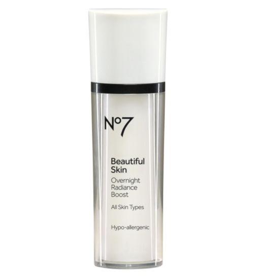 No7 Beautiful Skin Over Night Radiance Boost