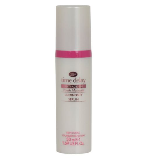 Boots Time Delay Youth Maintain Luminosity Serum 50ml