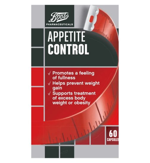 Boots Pharmaceuticals Appetite Control - 60 capsules