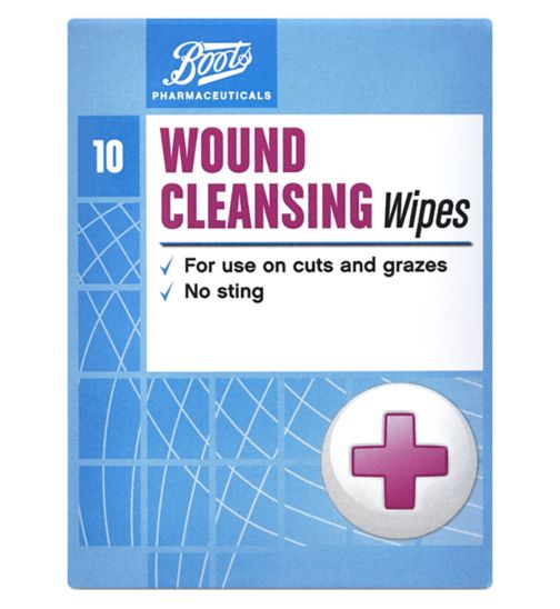 Boots Pharmaceuticals Wound Wipes - 10s