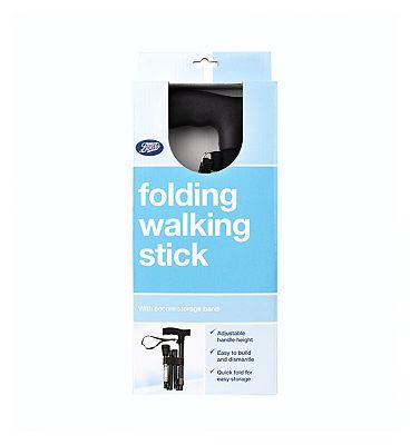 Boots Folding Walking Stick