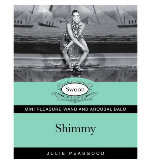 Swoon Shimmy Mini Pleasure Wand and Arousal Balm Set