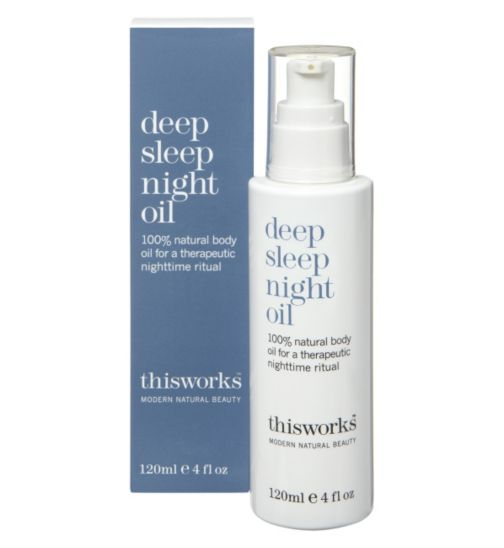 this works deep sleep night oil 120ml