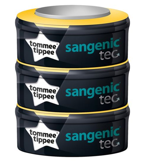 Tommee Tippee Sangenic Compatible Refill Cassette - 1 x 3 Pack