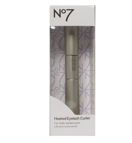 No7 Heated Eyelash Curler - Exclusive to Boots