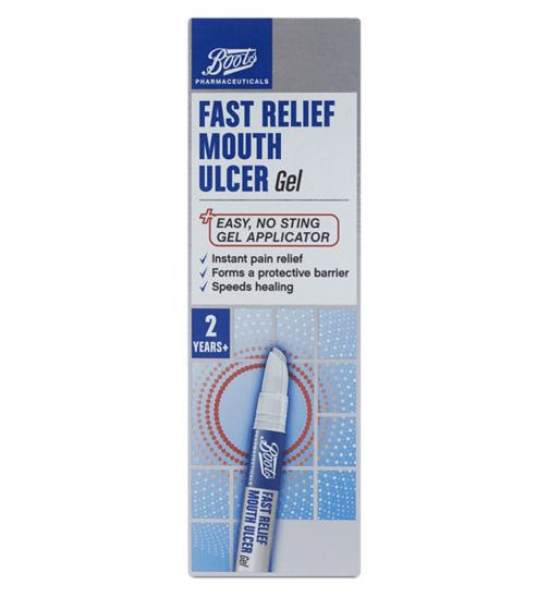 Boots Fast Relief Mouth Ulcer Gel