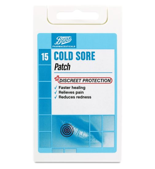 Boots Cold Sore Patch - 15 Patches