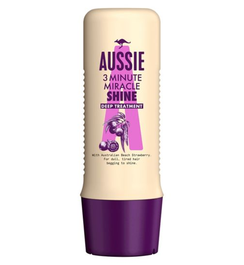 Aussie Deep Treatment  3 Minute Miracle Shine 250ml