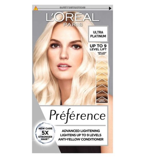 Preference Platinum Extreme Platinum Blonde Permanent Hair Dye