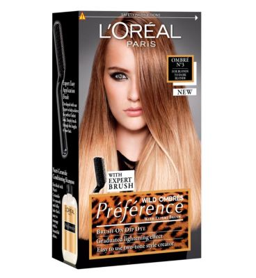 White Dip Dye Hair 3 Dip Dye Hair Kit Blonde