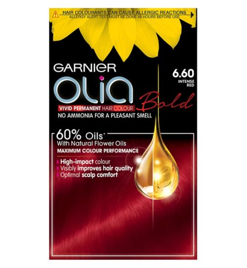 Garnier Olia 6.60 Intense Red Permanent Hair Dye
