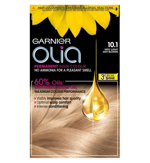 Garnier Olia Permanent Hair Colour 10.1 Very Light Ash Blonde