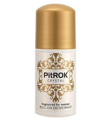 Pitrok Crystal Roll-On Deodorant for Women 50ml