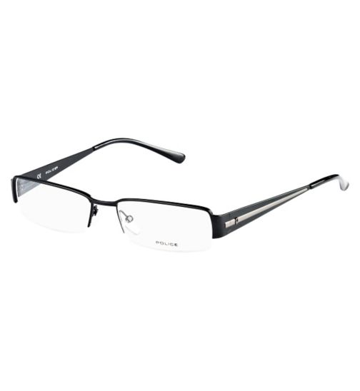 Police Men's Black Glasses - V8445