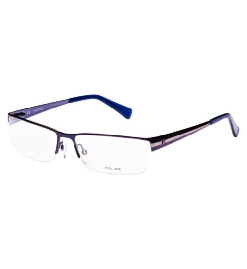 Police Men's Blue Glasses - V8225