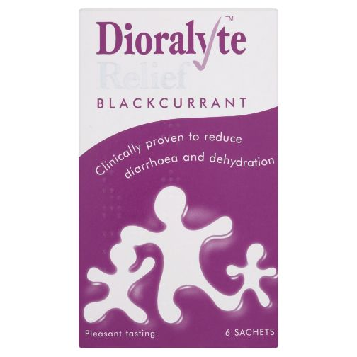 Dioralyte Relief Blackcurrant - 6 Sachets