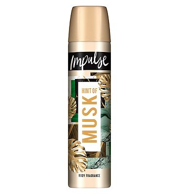 Impulse Hint of Musk Body Fragrance Spray 75ml