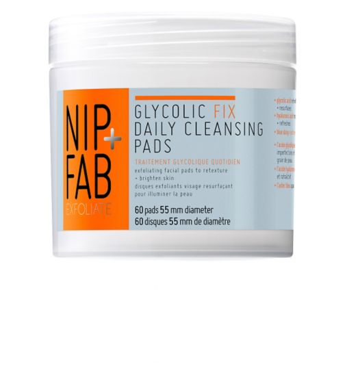 Nip+Fab Glycolic Fix Daily Cleansing Pads 60 pack