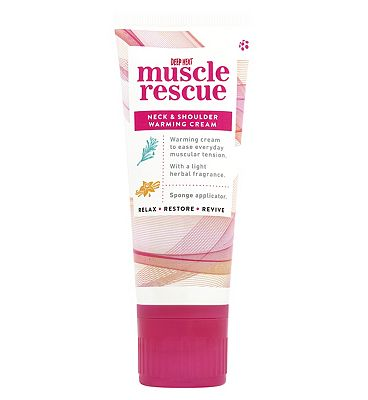 Deep Heat Muscle Rescue Neck & Shoulder Cream 50g