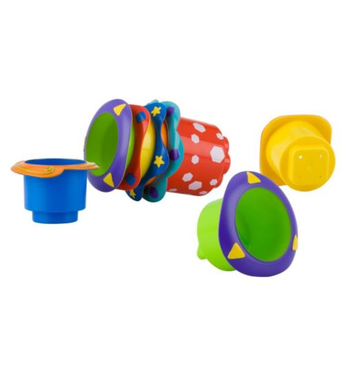Nuby Splish Splash Cups - 1 x Pack