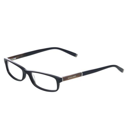 Nicole Farhi Women's Black Glasses - NF0017