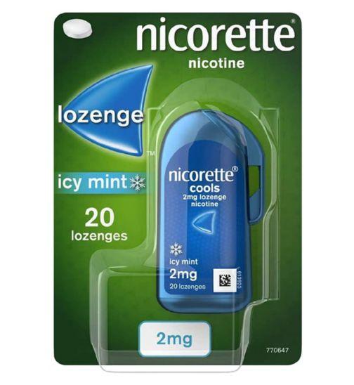 Nicorette 2mg Icy Mint Lozenge 20s Handipack