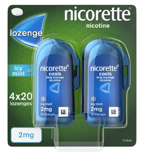 Nicorette 2mg Lozenge 80s Handipack