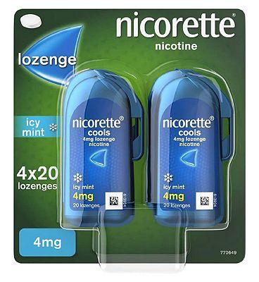 Nicorette 4mg Lozenge 80s Handipack