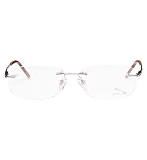 Jaguar Men's Silver Glasses - 30001/210