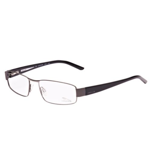 Jaguar Men's Gunmetal Glasses - 33024/650