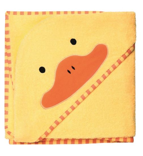 Skip Hop Zoo Hooded Towel Duck - Yellow