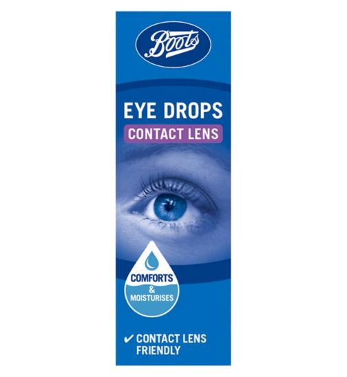 Boots Contact Lens Eye Drops - 10ml