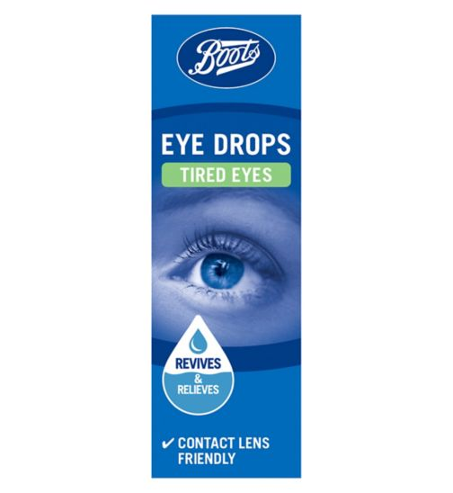 Boots Tired Eyes Eye Drops