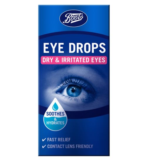 Boots Dry Eyes Eye Drops 10ml