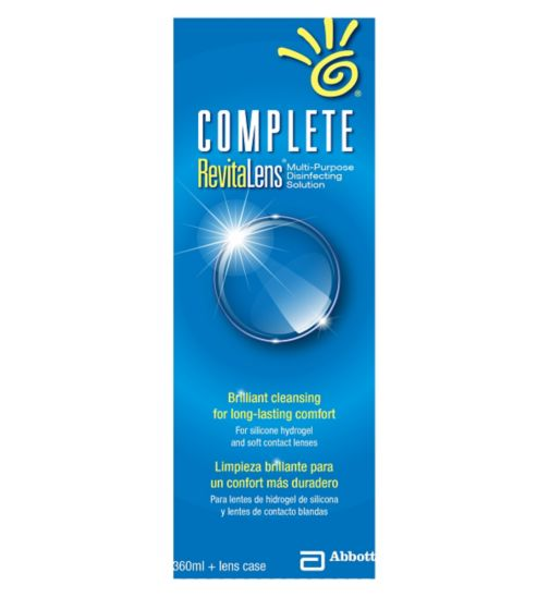 Complete Revitalens Multi-Purpose Disinfecting Solution - 360ml