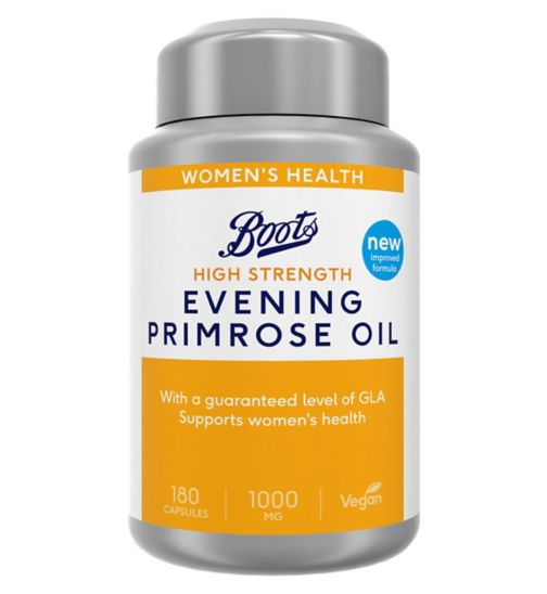 Boots Evening Primrose Oil 1000 mg - 180 Capsules