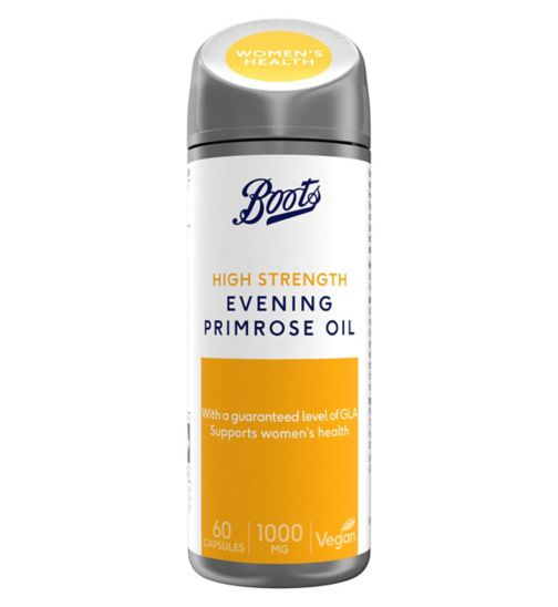 Boots  Evening Primrose Oil 1000 mg 60 Capsules