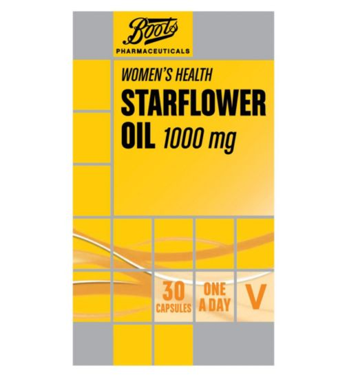 Boots Starflower Oil 1000 mg 30 capsules