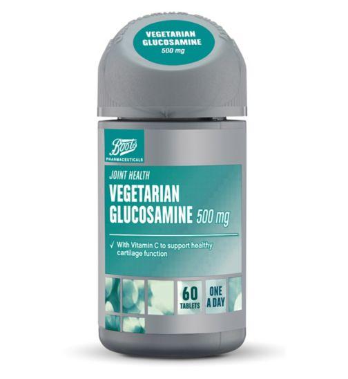 Boots Vegetarian Glucosamine 500 mg 60 Tablets